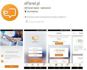 aplikacja epanel