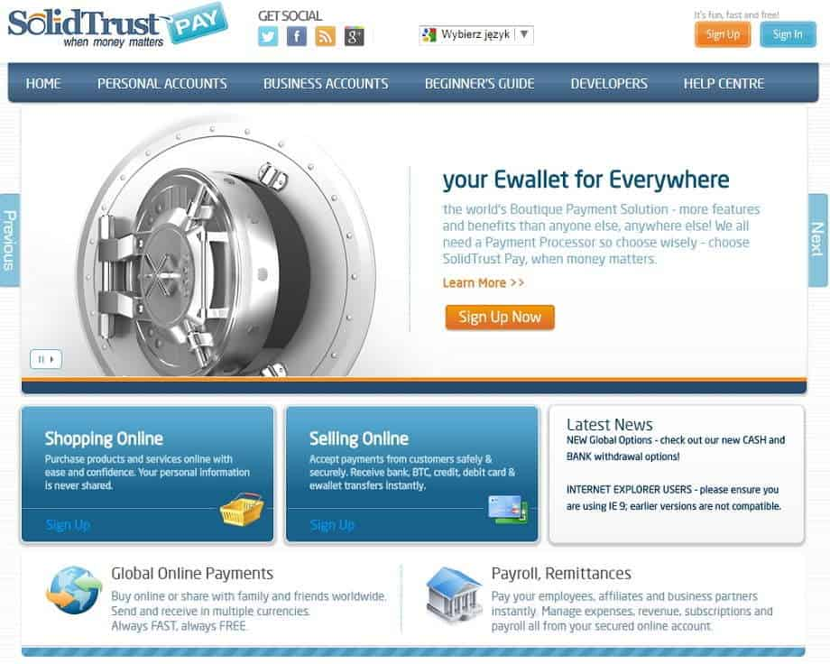 Solid Trust Pay Erfahrungen