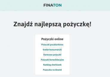Nowa porównywarka finansowa Finaton już dostępna w Polsce
