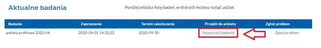 Ankiety w Imas Online