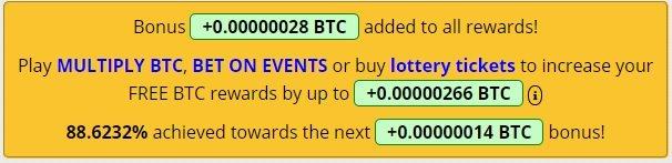 bonus freebitcoin