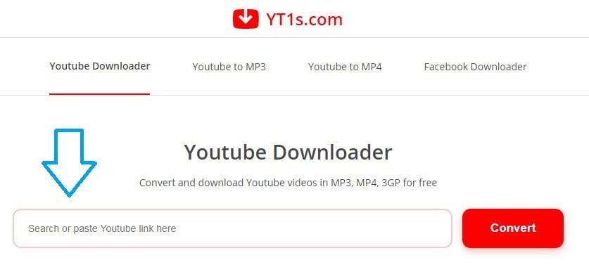 YT1s do ściągania filmów i muzyki z YouTube