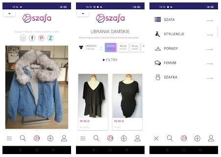 aplikacja do sprzedawania szafa.pl